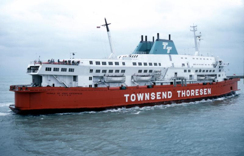 25 Years Ago: Herald of Free Enterprise - Shipwreck Log Shipwreck Log