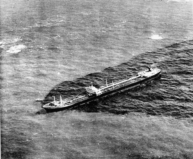 El naufragio del Torrey Canyon en 1967