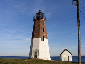 The Point Judith Light, Point Judith, Rhode Island
