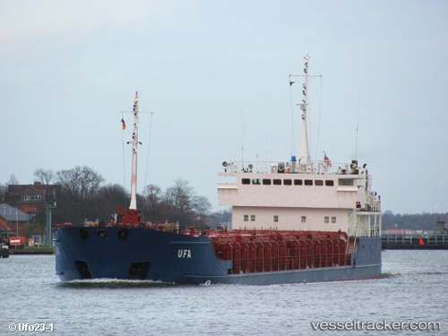 Cargo Ship Ufa IMO 9143611 by Ufo23-1