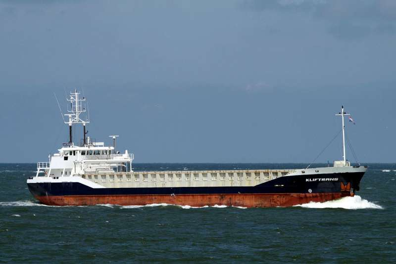 Kliftrans IMO 9142497, dwt 3155, built 1997, flag Netherlands, owner Wagenborg Shipping.
