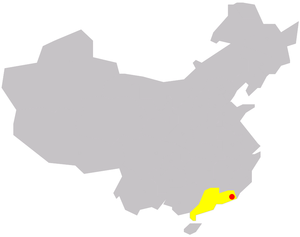 Shantou in China