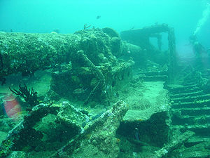 Wreck of the RMS Rhone, British Virgin Islands
