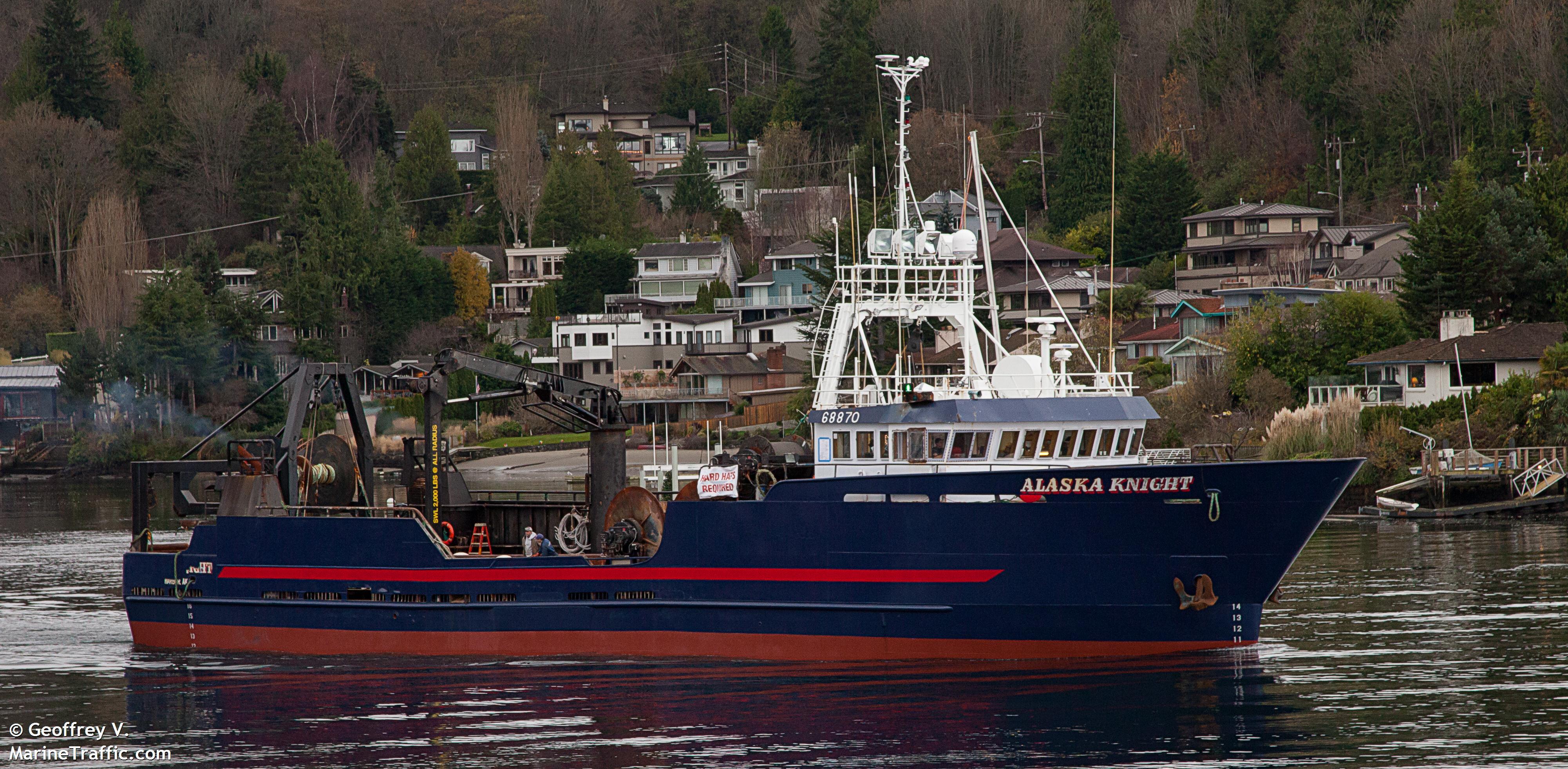 Alaska Knight Shipwreck Log