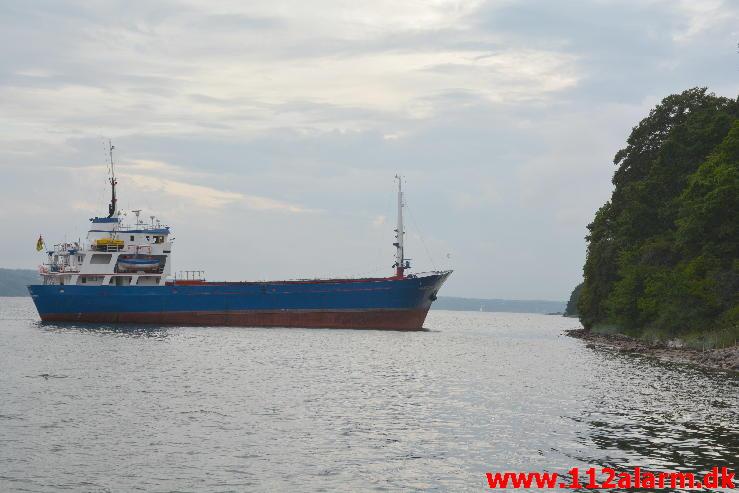 Faxborg Shipwreck Aground Denmark
