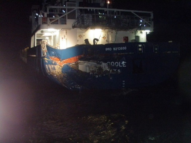 RMS Goole Collision Rhine