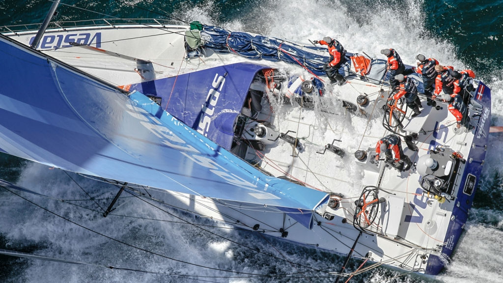 Team Vestas Wind 2 – Shipwreck Log