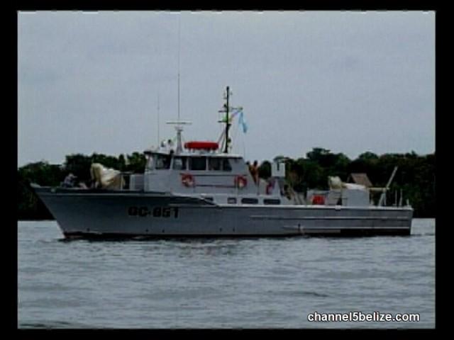 Guatemala Naval Boat