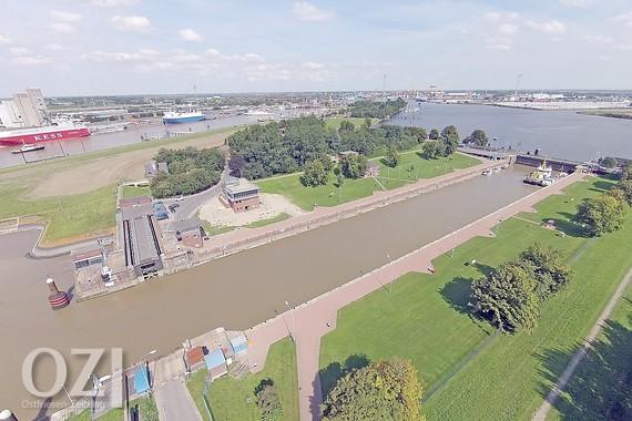 Emden Sea Lock